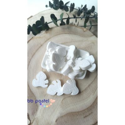 perle feuille silicone