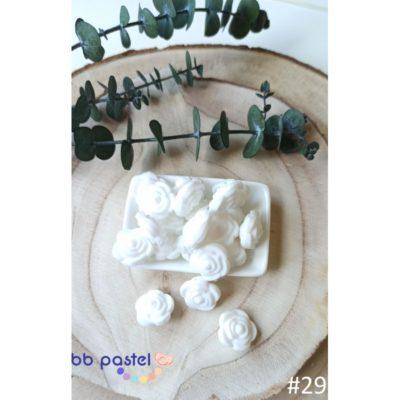 perles rose silicone